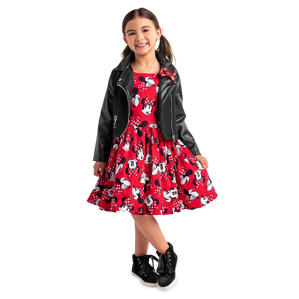 Minnie Mouse Moto Jacket for Girls