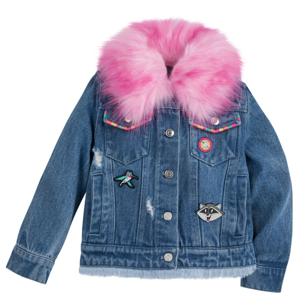 Pocahontas Denim Jacket for Girls