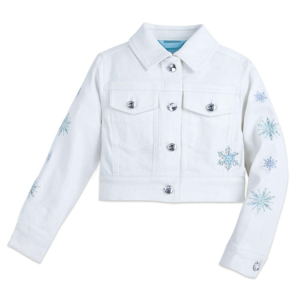 Frozen Denim Jacket for Girls