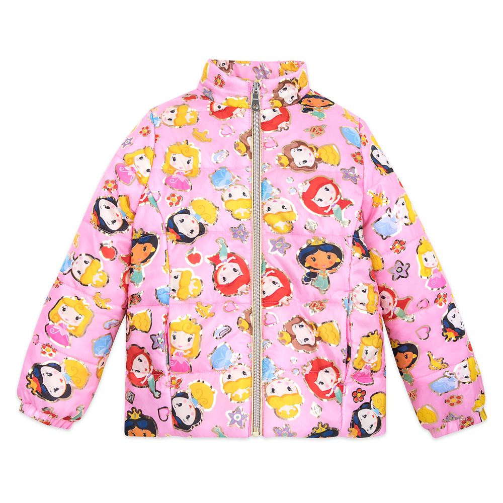 Disney Princess Lightweight Puffy Jacket for Girls – Personalized
