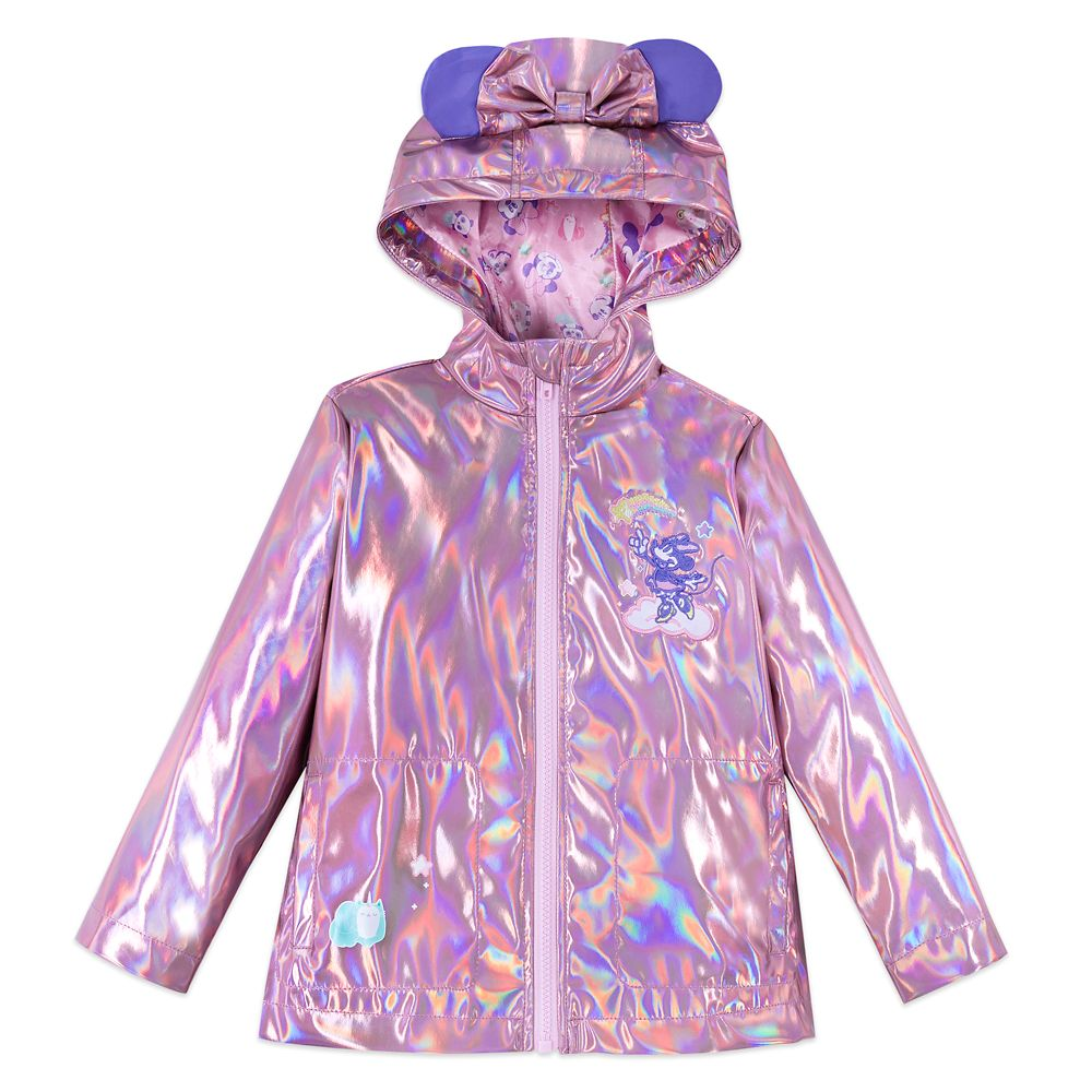 Minnie Mouse Pink Rain Coat for Kids