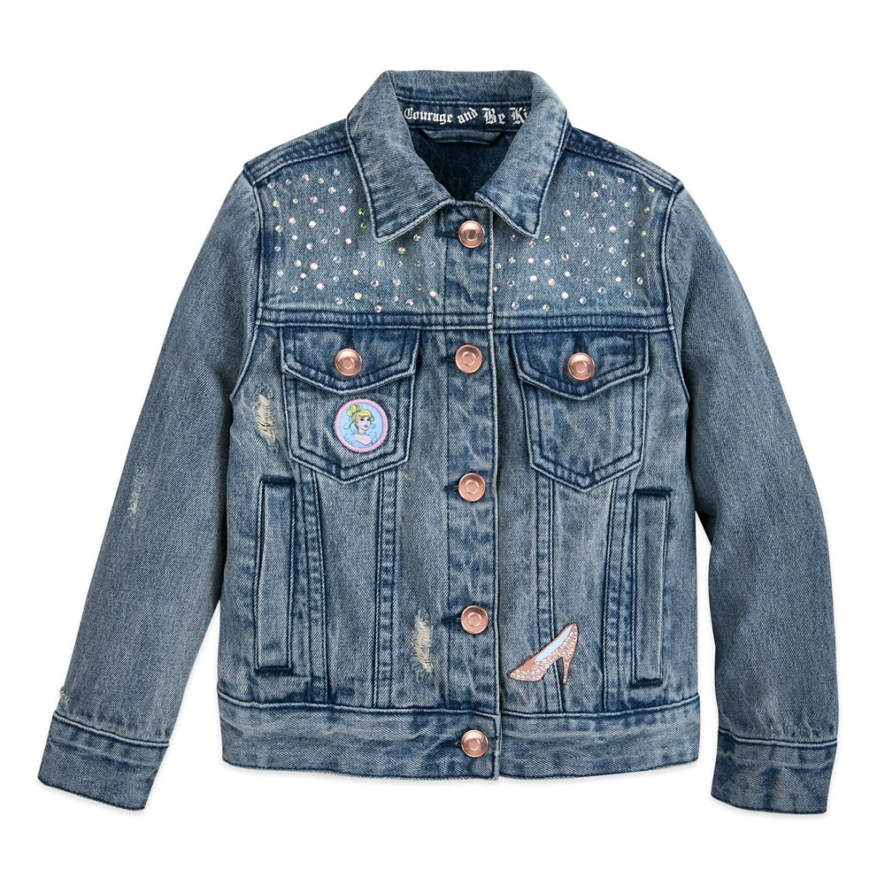 Cinderella Denim Jacket for Girls