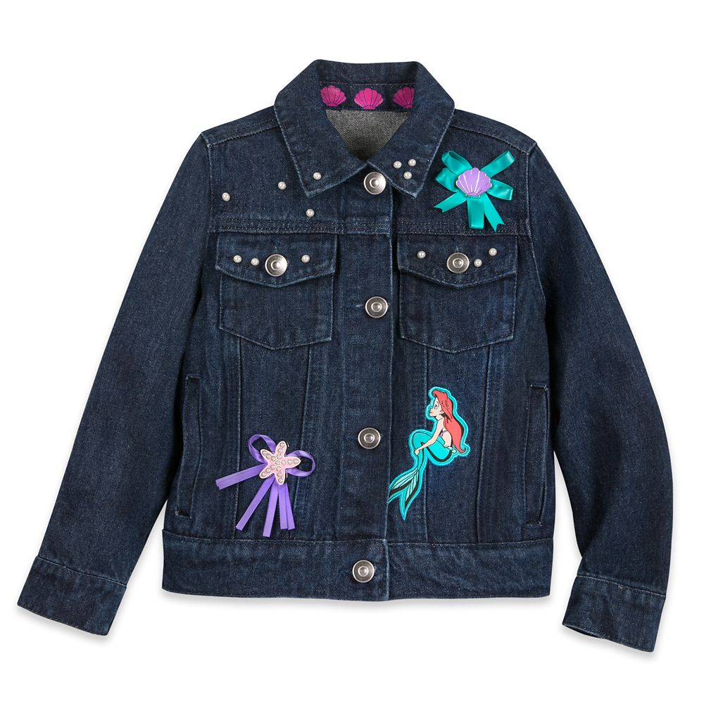 Ariel Denim Jacket for Girls