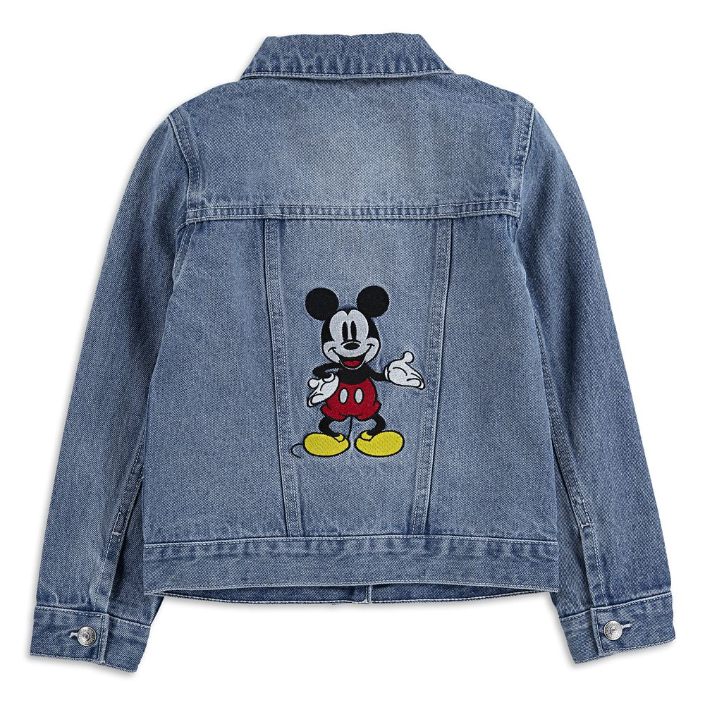 Mickey Mouse Denim Trucker Jacket for Girls by Levi's