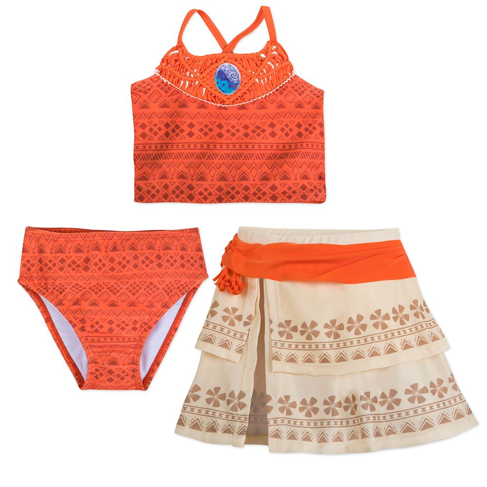 Moana Deluxe Swimsuit Set for Girls Official shopDisney