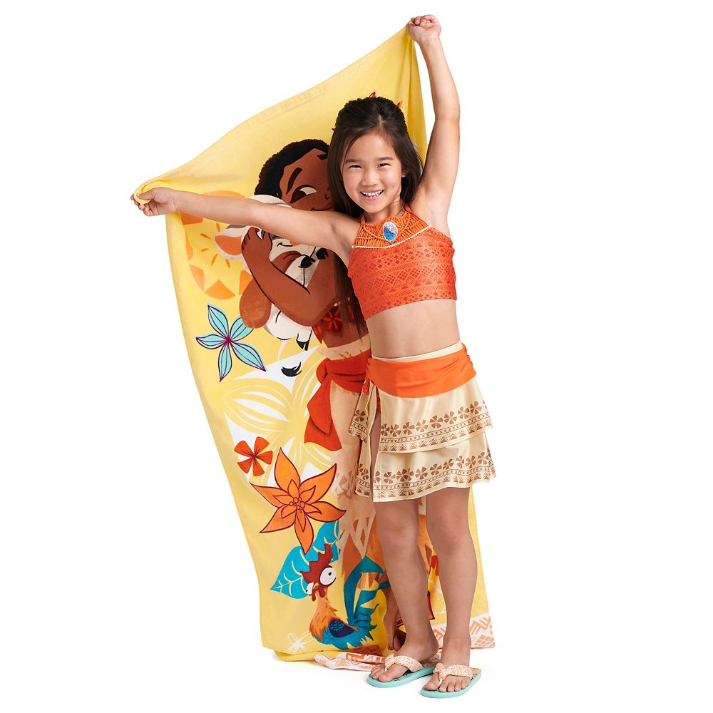 Moana Deluxe Swimsuit Set for Girls