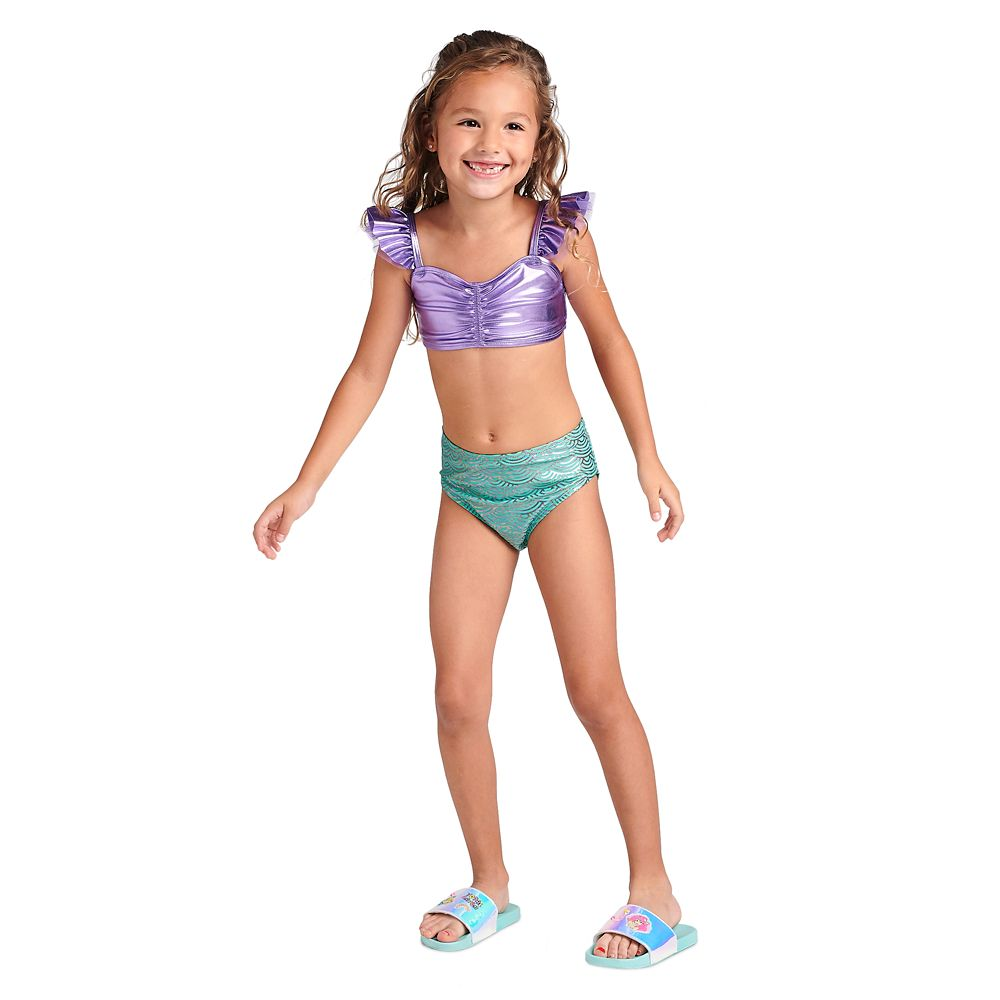 Ariel Deluxe Swimsuit Set for Girls
