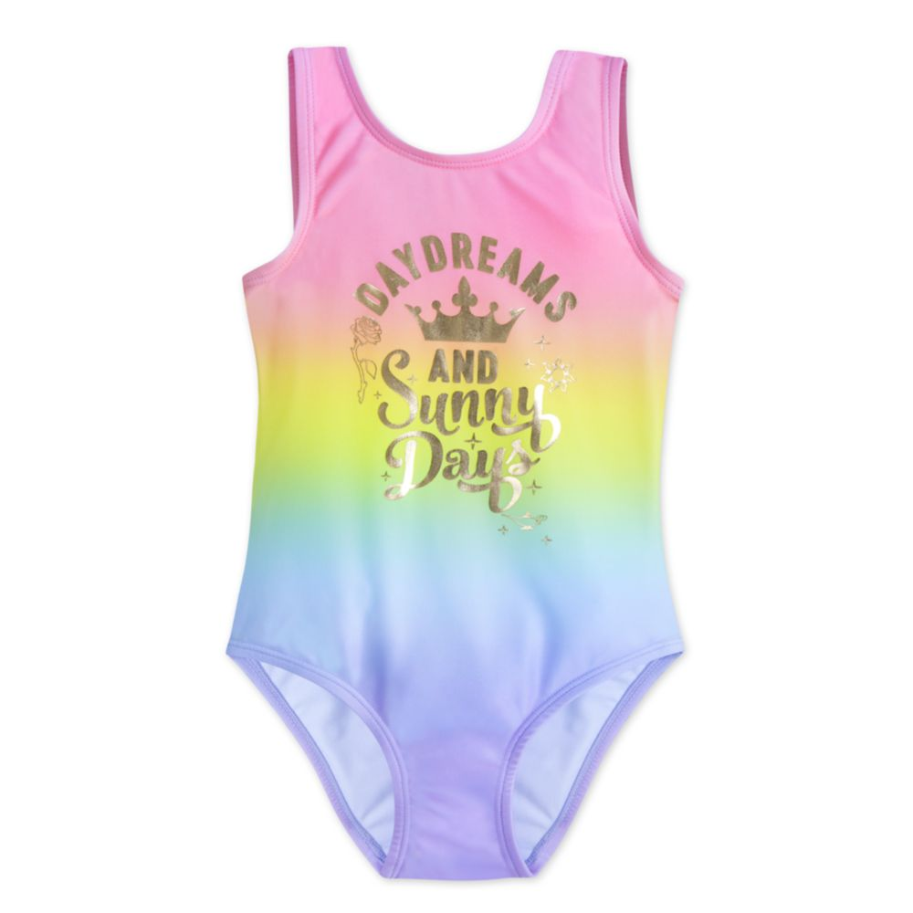 Disney Princess Rainbow Swimsuit for Girls