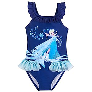 Elsa Swimsuit for Kids - Frozen