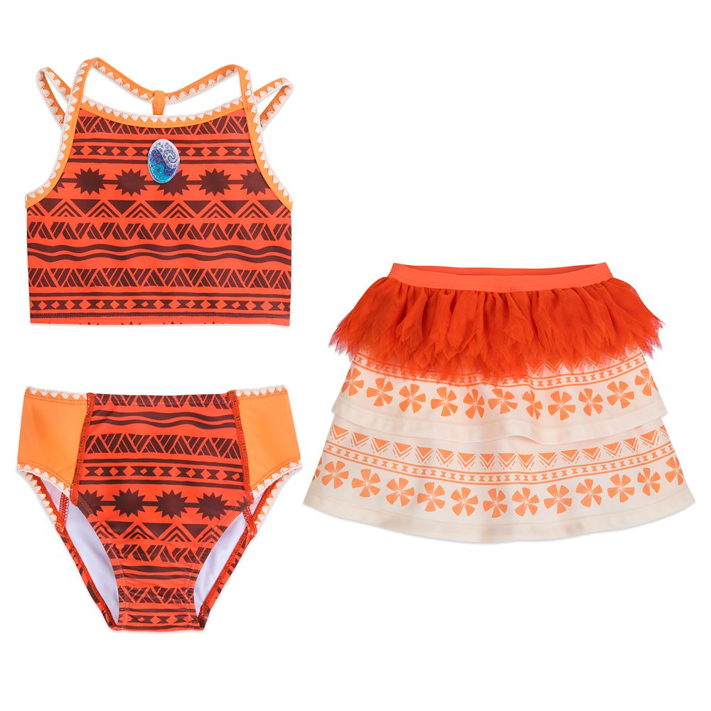 Disney Girls Moana Swimsuit