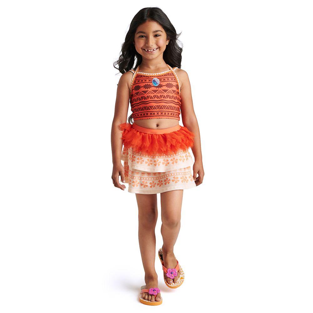 Moana Deluxe Swimsuit Set for Girls
