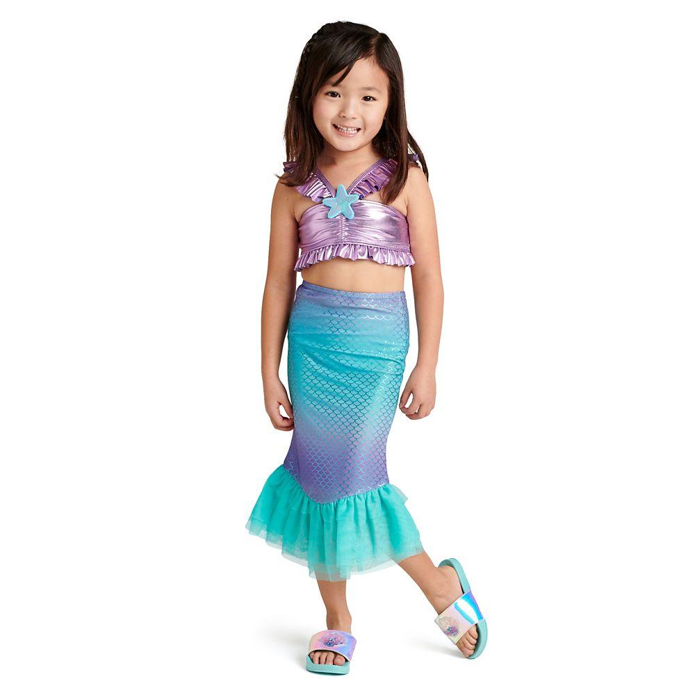 Ariel Deluxe Swimsuit Set for Girls