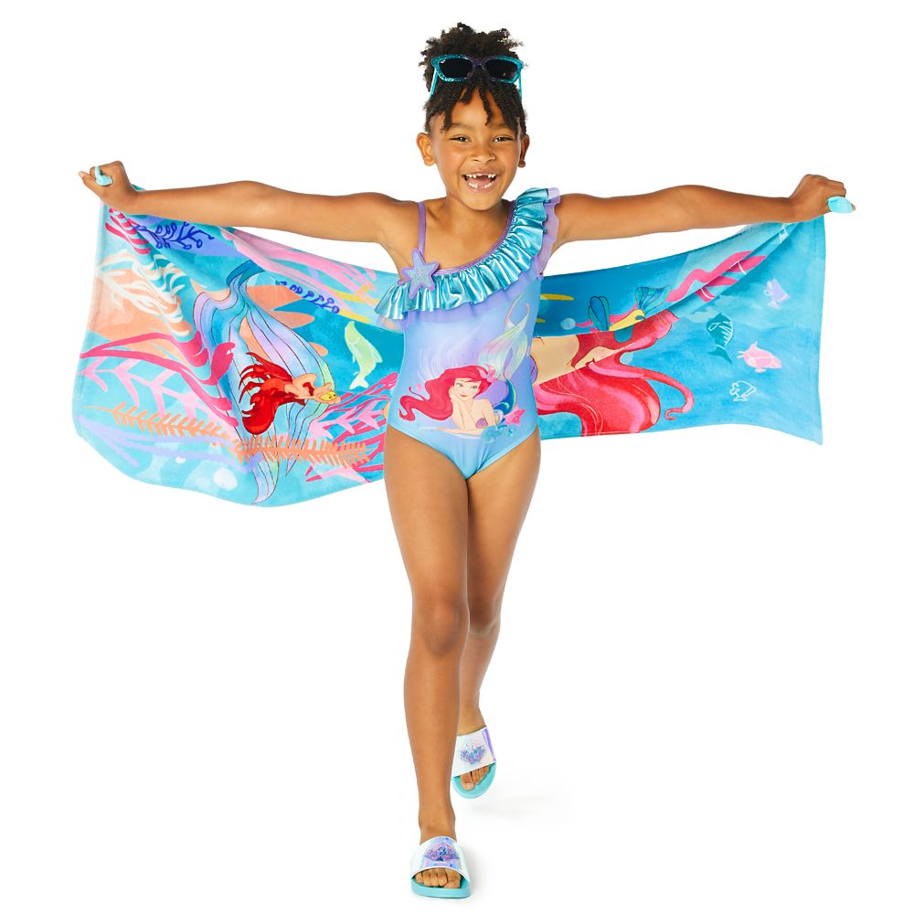 Ariel One-Piece Swimsuit for Girls – The Little Mermaid