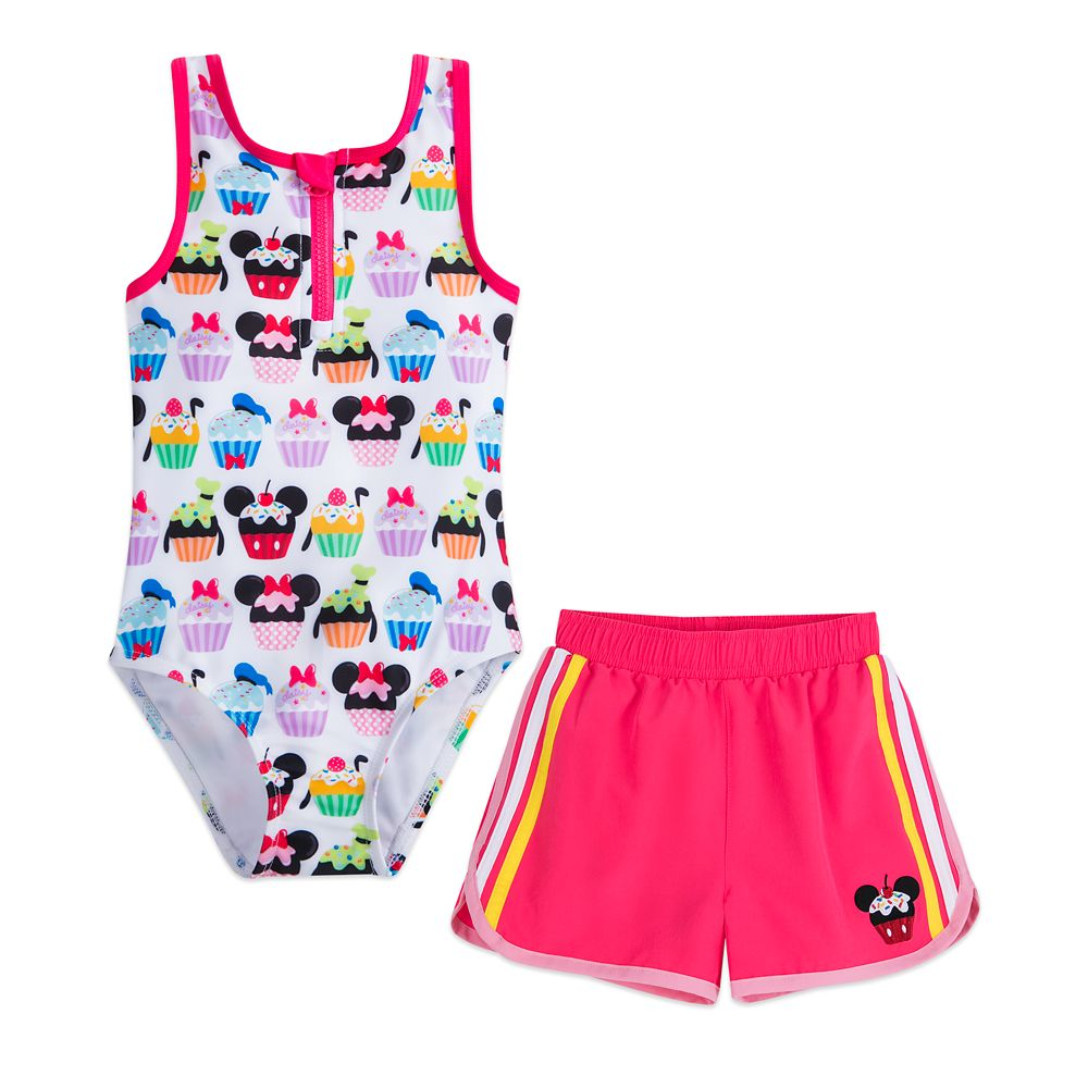Mickey Mouse and Friends Cupcake Swim Set for Girls