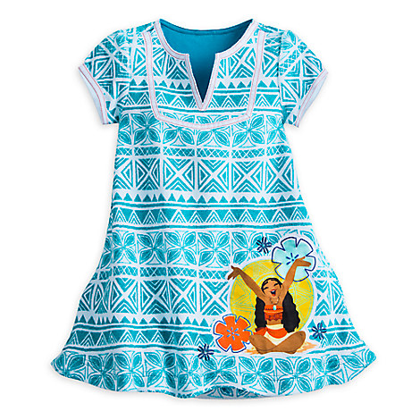 Moana Swim Cover-Up for Girls