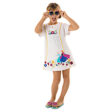0487a8407f6eb Anna and Elsa Swim Cover-Up for Girls