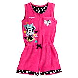 Minnie Mouse Swim Cover-Up for Girls - Personalizable