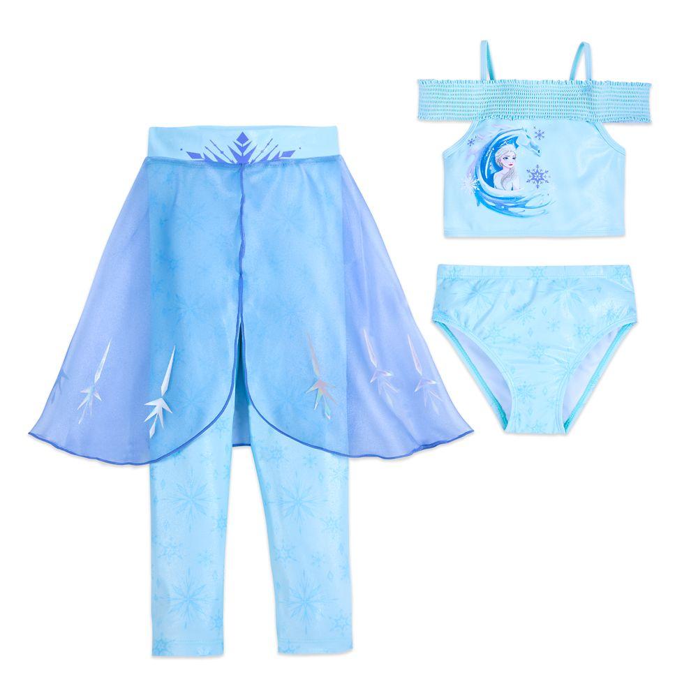 Elsa Deluxe Swim Set for Girls – Frozen 2