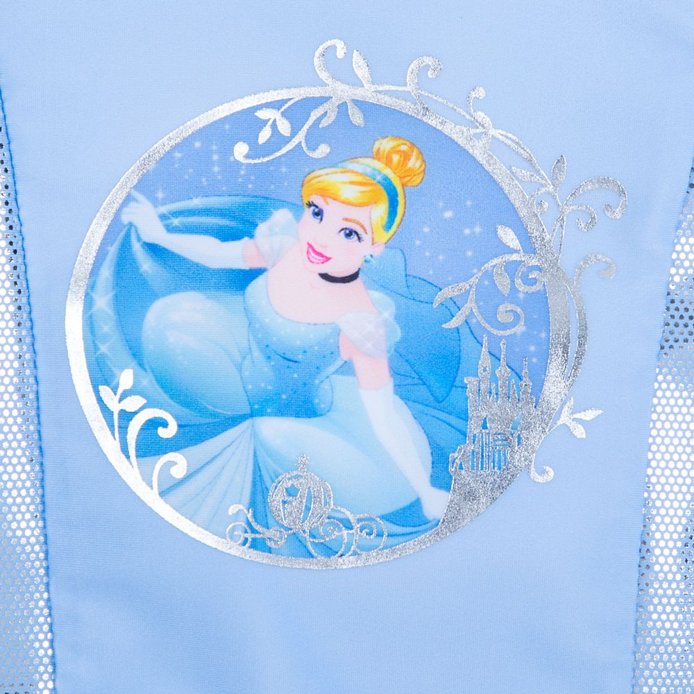 Cinderella Deluxe Swimsuit for Girls