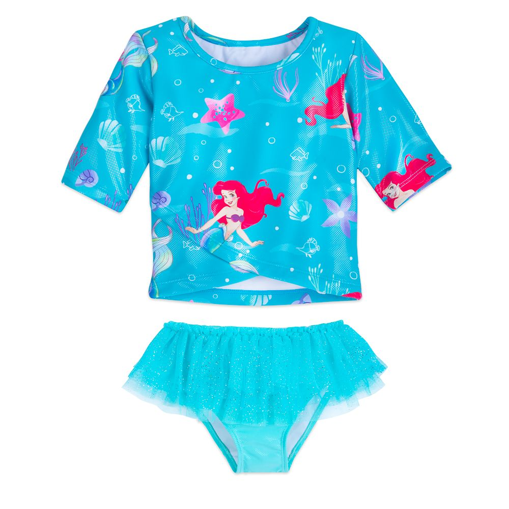 Ariel Deluxe Swimsuit for Girls Official shopDisney