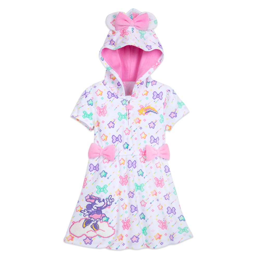 Disney Store Doc McStuffins Swim Hooded Cover Up Terry Robe Toddler Girls NEW