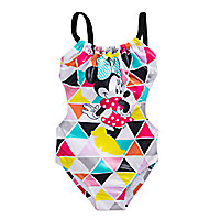 Minnie Mouse Geometric Swimsuit for Girls