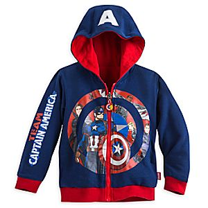 Captain America: Civil War Reversible Zip Hoodie for Boys