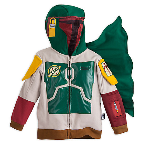Boba Fett Interactive App Hoodie for Kids - Star Wars