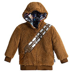 Chewbacca Reversible Zip Hoodie for Kids - Star Wars