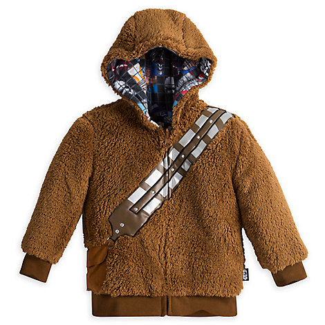 Chewbacca Reversible Zip Hoodie for Kids - Star Wars