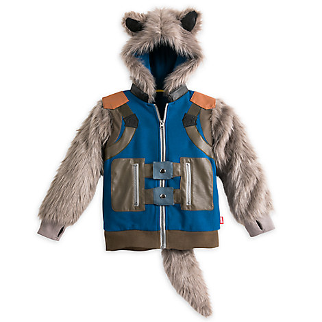 Rocket Raccoon Hooded Costume Jacket for Boys - Guardians of the Galaxy Vol. 2