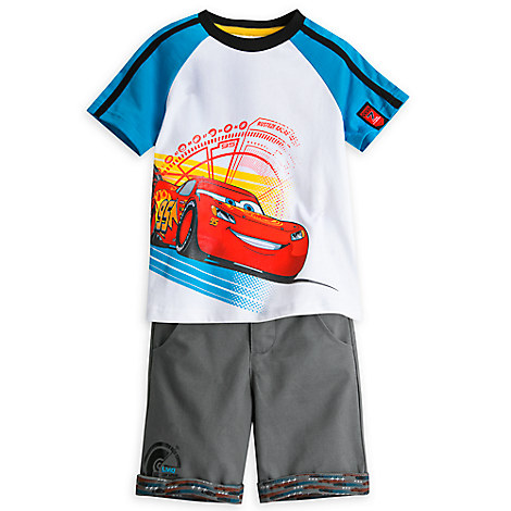 Cars 3 Short Set for Boys