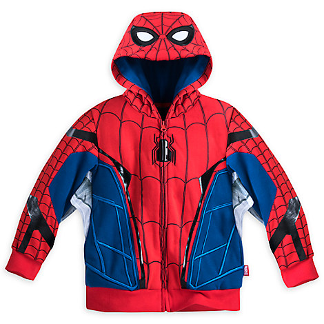 Spider-Man Costume Jacket for Boys