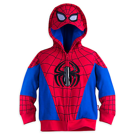 Spider-Man Zip Hoodie for Boys
