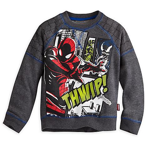 Spider-Man Raglan Sweatshirt for Boys
