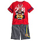 Mickey and the Roadster Racers Short Set for Boys