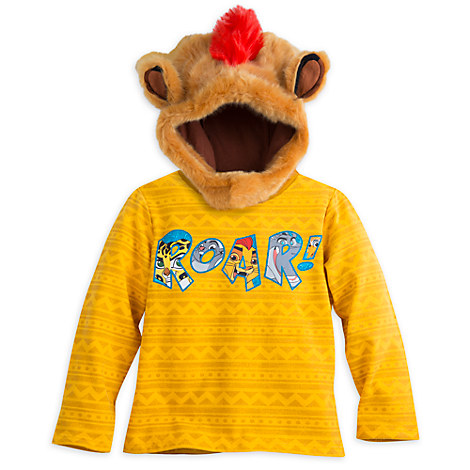 The Lion Guard Long Sleeve Pullover Sweatshirt for Boys