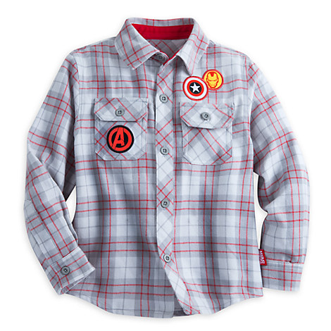 Marvel's Avengers Long Sleeve Shirt for Boys