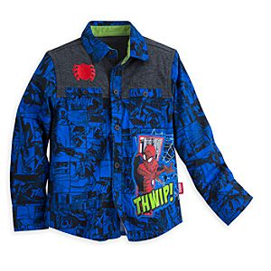 Spider-Man Long Sleeve Shirt for Boys 5804056410265M