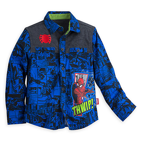 Spider-Man Long Sleeve Shirt for Boys
