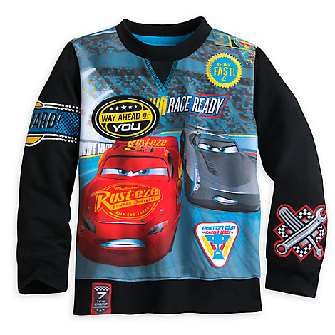 Cars 3 Fashion Pullover for Boys