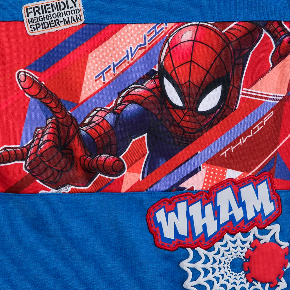 Spider-Man Tank Top and Shorts Set for Boys