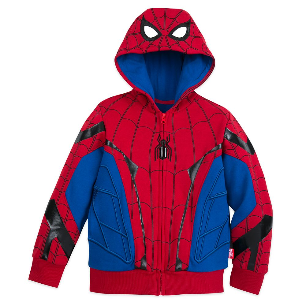 Spider-Man Hooded Jacket  Spider-Man: Far from Home Official shopDisney