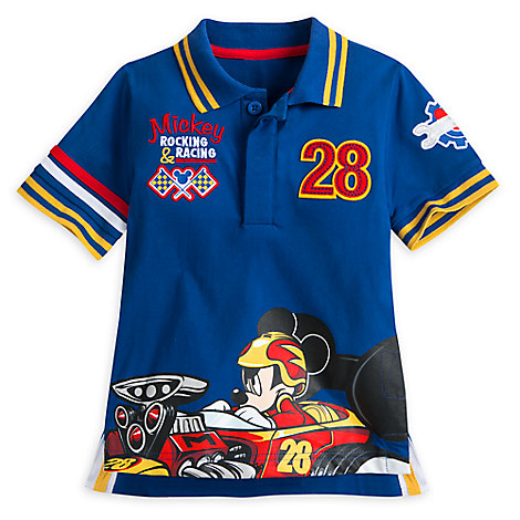 Mickey Mouse Polo Shirt for Boys - Mickey and the Roadster Racers