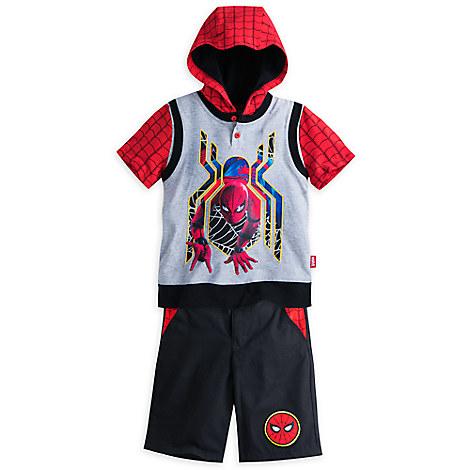 Spider-Man Short Set for Boys