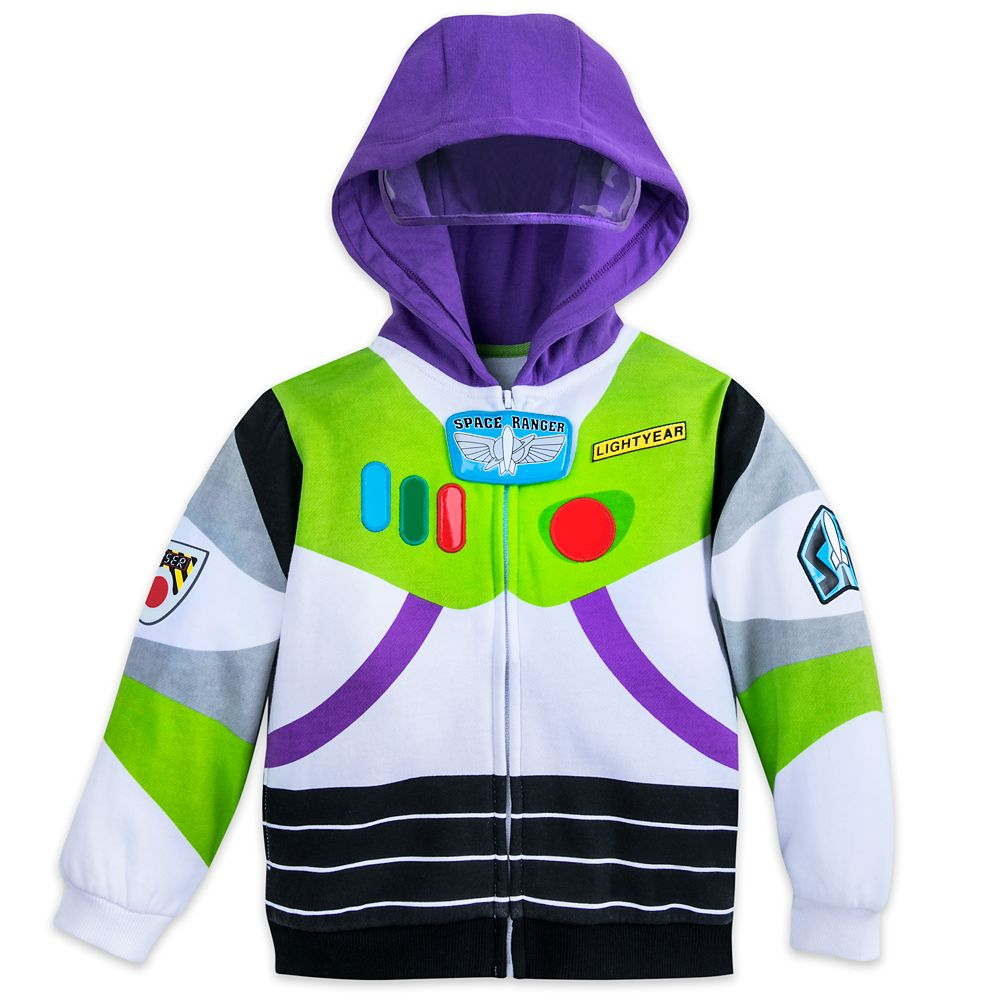 Buzz Lightyear Costume Hoodie for Boys Official shopDisney