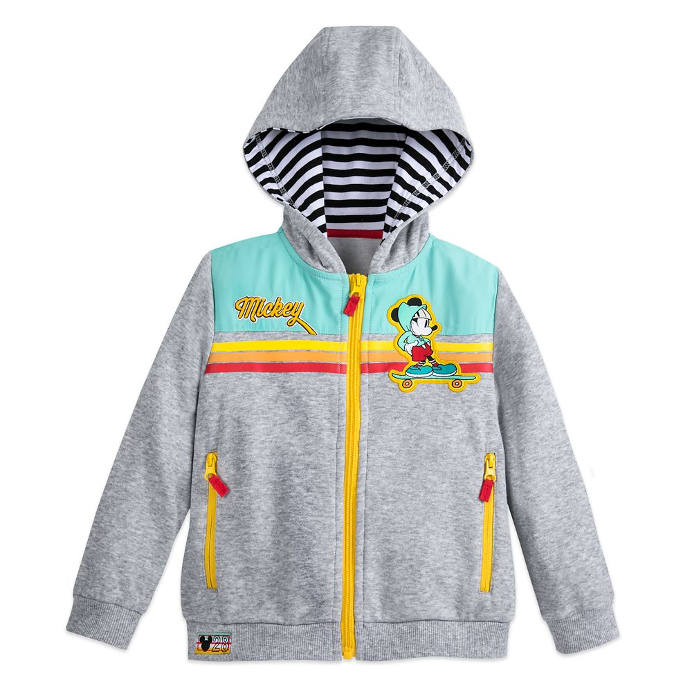 Mickey Mouse Zip-Up Hoodie for Kids