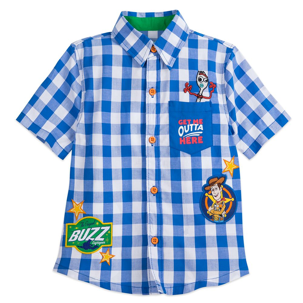 Toy Story 4 Woven Shirt for Boys