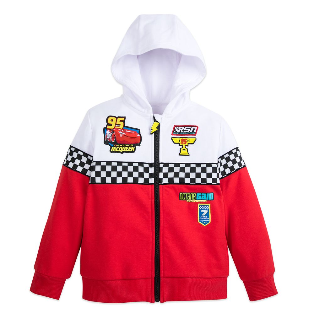 Lightning McQueen Hoodie for Boys