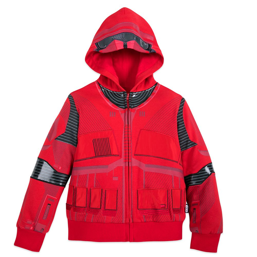 Sith Trooper Zip-Up Hoodie for Boys – Star Wars: The Rise of Skywalker